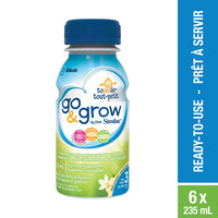 Go & Grow by Similac Step 3 Ready-To-Use Toddler Formula, 6 x 235 mL, Vanilla Flavour 雅培三段水奶香草味