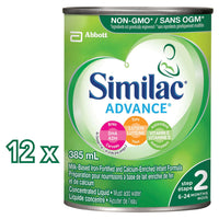 Similac Advance Step 2 Concentrated Liquid Baby Formula, 12 x 385 mL 雅培二段浓缩水奶12瓶