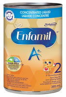 Enfamil A+® 2 Baby Formula, Concentrated Liquid 385mL (12 pack)美赞臣二段水奶