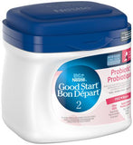 NESTLÉ GOOD START Probiotic with PRO-Blend Stage 2 Baby Formula 600 g 雀巢二段益生菌婴儿配方奶粉