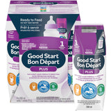 NESTLÉ Good START with PRO-BLEND Stage 1 Baby Formula, Ready-to-Feed 雀巢一段水奶 4 x 250 mL