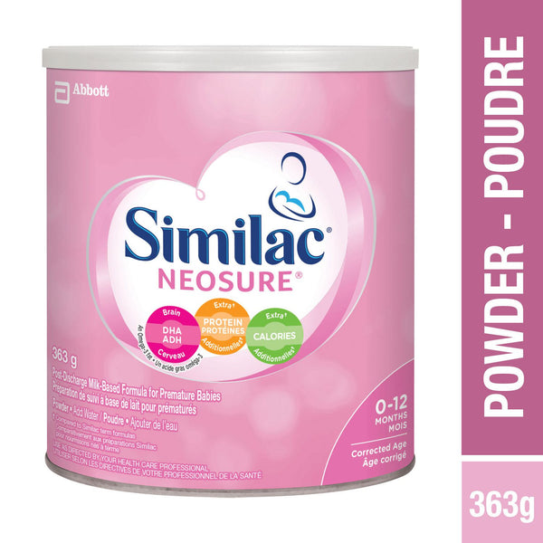 Similac Neosure Preterm Post-Discharge Baby Formula Powder For Preterm Infants, 363 g 雅培0-12月婴儿奶粉,363克