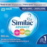 Similac Advance Step 1 Ready-To-Use Baby Formula, Value Pack 6 x 945 mL 雅培一段水奶(超值装)