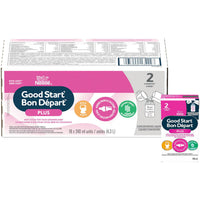 NESTLÉ® GOOD START® PLUS 2 Baby Formula, Concentrated Liquid - New Look 18 x 240ml 雀巢二段浓缩水奶