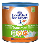 Nestlé Good Start 3 Toddler Transition Milk Based Nutritional Supplement 680 g 雀巢三段婴幼儿过渡牛奶营养补充剂