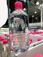 Garnier SkinActive Micellar Cleansing Water All-in-1 Cleanser & Makeup Remover 700ml卡尼尔3合1洁肤卸妆水眼唇面部敏感肌