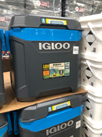 Igloo Maxcold Rolling Cooler 98 Can Capacity  滚动冷却箱98罐容量