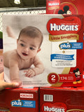 Huggies Little Snuggle Size 1 Diapers Pack of 192好奇1号纸尿裤192片