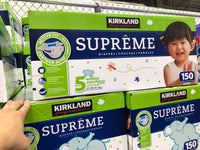 Kirkland Signature Supreme Diapers SZ 5 Pack of 150可兰婴儿纸尿裤 5 号150片