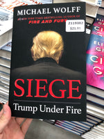 Michael Wolff Siege Trump Under Fire  迈克尔沃尔夫围攻特朗普