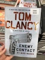 Tom Clancy Enemy Contact By Mike Maden 汤姆克兰西敌人联系 迈克马登