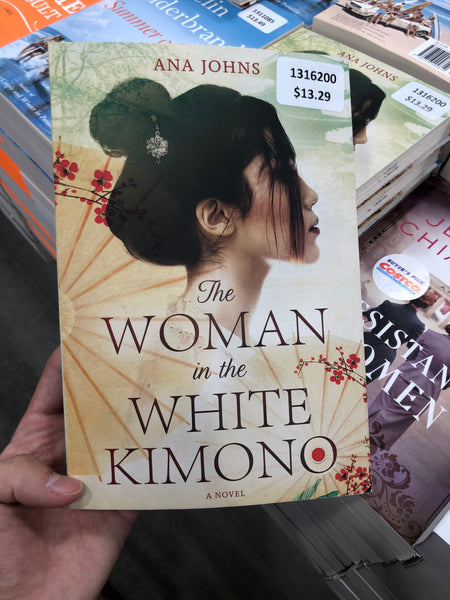 The Woman in the White Kimono by Ana Johns 白色和服中的女人