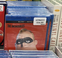 The Incredibles BLU-RAY 超人总动员 蓝光