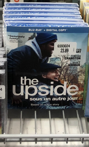The Upside BLU-RAY 触不可及蓝光