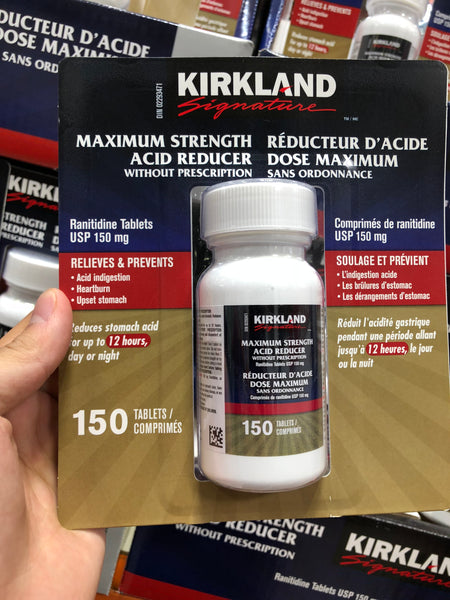 Kirkland Signature Acid Reducer 150MG 150 Tablets