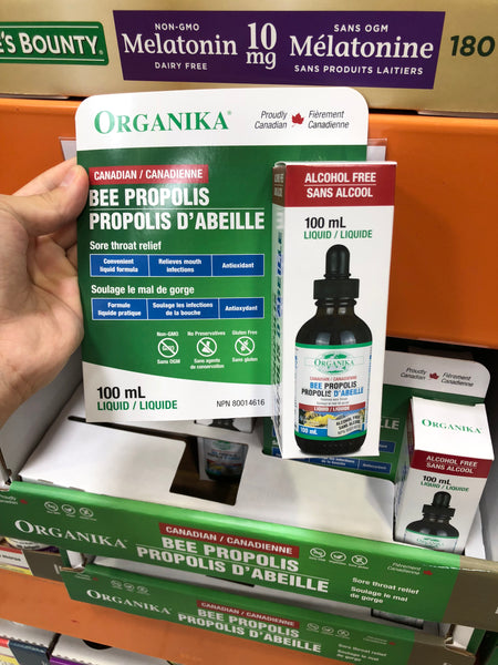 Organika Liquid Bee Propolis 100ml蜂胶滴剂滴液100ml