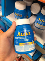 Bayer Aleve 220mg 250Caps Limit 3 Per Sale 拜耳退烧缓疼痛液体凝胶 220mg 250粒