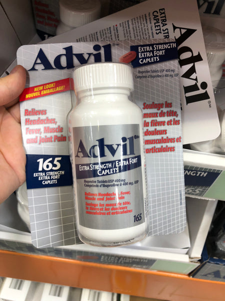 Advil Ibuprofen 400mg Extra Strength 165's可兰布洛芬 400毫克 165粒 新版包装