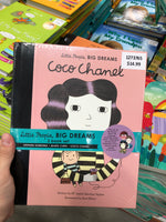 Little People, BIG DREAMS 3 book set Stephen Hawking - Marie Curie - Coco Chanel 小人物大梦想 3本书集斯蒂芬霍金 - 玛丽居里 - 可可香奈儿