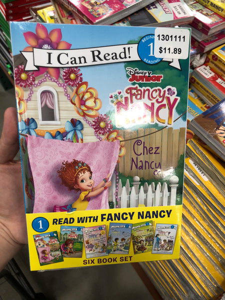I Can Read Fancy Nancy Beginning 1 reading 花式南希