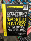 Everything you need to ace WORLD HISTORY in one big fat notebook 你需要的一切世界历史