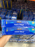 Kirkland Signature Food Wrap 2x30.48cmx228.6m 可兰保鲜膜2盒 30.48cmx228.6m
