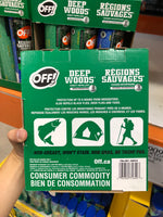 Off! Deep woods Insect Repellent 2x255g+230g户外驱蚊喷雾