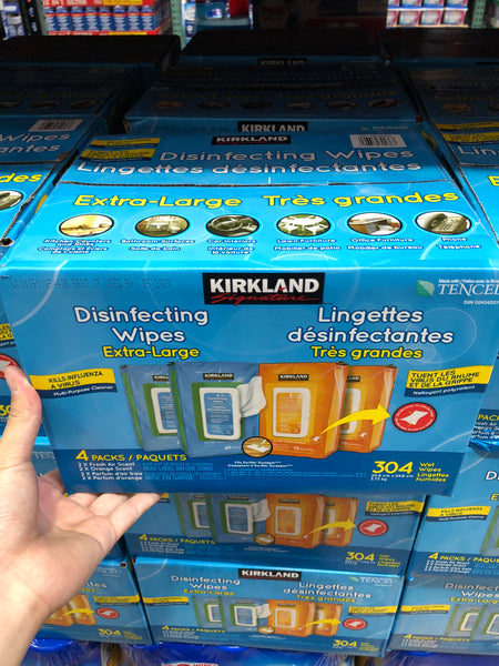 Kirkland Signature Disinfectant Wipes 304 Wipes 可兰消毒湿巾304张