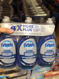Dawn Advanced Power Liquid Dish Detergent 3x709ml 黎明牌超浓缩洗洁精 709ml*3