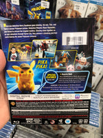Pokemon Pikachu Blu-ray + DVD + Digital code 宠物小精灵皮卡丘