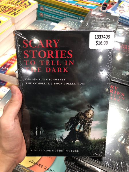 Scary Stories To Tell in the Dark 可怕的故事在黑暗中讲述