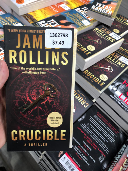 James Rollins Crucible A Thriller