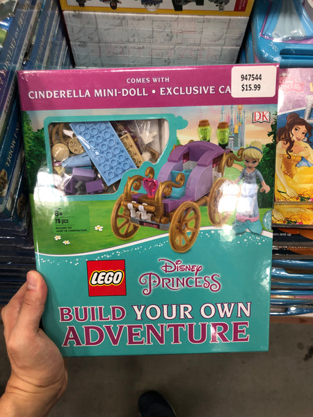 Disney Princess Build your own adventure LEGO 迪士尼公主建立自己的冒险乐高