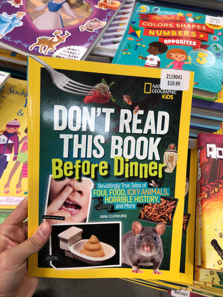Don't Read this book before Dinner 晚餐前不要读这本书