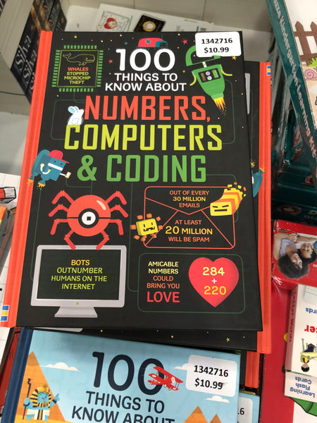 100 things to know about Numbers, Computers & coding 关于数字,计算机和编码的100件事