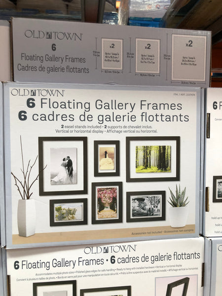 Old Town Floating Gallery Frame 6 pack 旧城浮动画廊框架6包