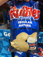 Frito Lay Ruffles Regular乐事瑞福波浪原味薯片 585g