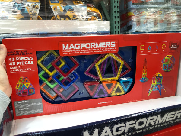 Magformers Basic Set Line 43 Pieces 几何变形基础套装线43件
