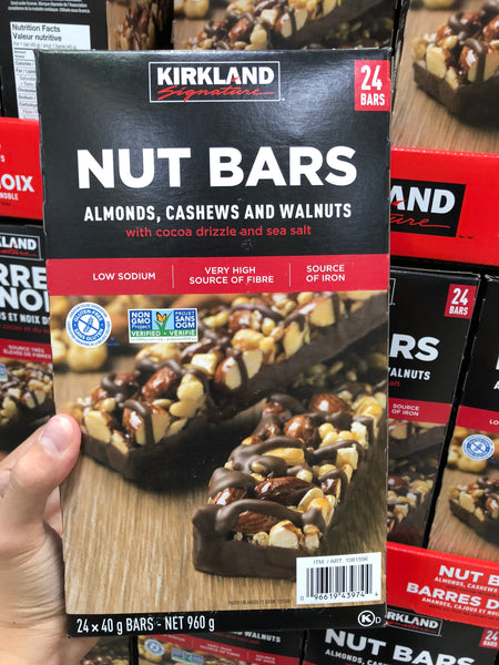 Kirkland Signature KS Nut Bars 24x40g 可兰混合坚果能量棒