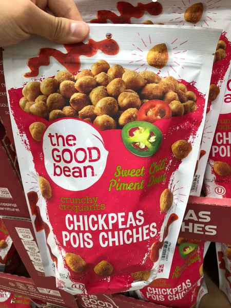 The Good Bean Chickpea SnacKirkland Signature Sweet Chili 539g 酥脆甜辣鹰嘴豆