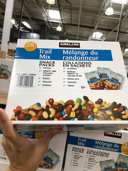 Kirkland Signature Trail Mix 28x57g 可兰混合零食坚果