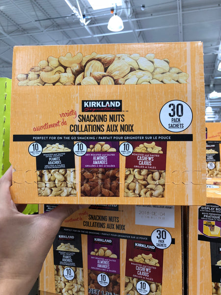 Kirkland Signature Variety Snacking Nuts 30x45g 可兰花生杏仁腰果各10包