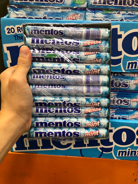 Mentos Mints Pack of 20 曼妥思薄荷味