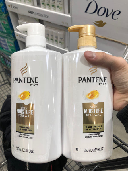 Pantene Shampoo& Conditioner 900ml+855ml 潘婷 洗发水护发素