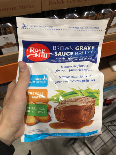 Rose Hill Brown Gravy 1kg 肉汁儿粉