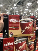 Tim Hortons Original Blend K-Cups 72 Count 原味咖啡 胶囊咖啡 72杯