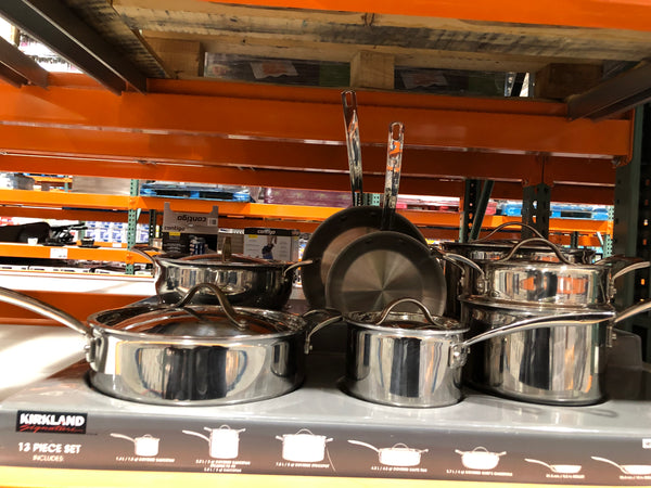 Kirkland Signature Cookware set ^13piece 可兰厨具套装 13件