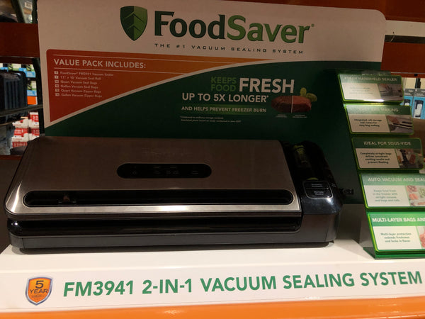 Foodsaver 2-in-1 vacuum sealing ^ system 保存食物2合1真空密封^系统