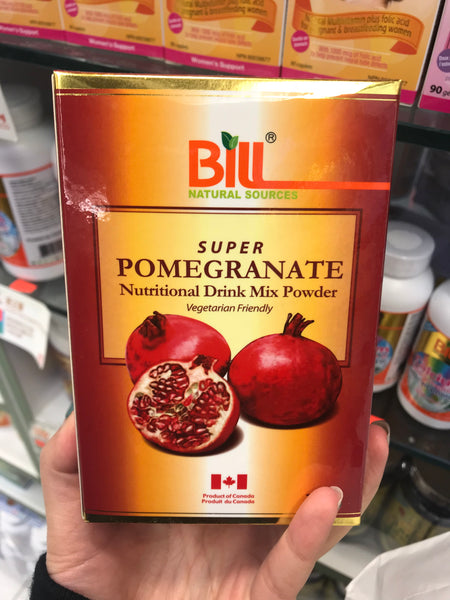 """Bill Pomegranate Powder 300g	康加美石榴精华300克粉"""