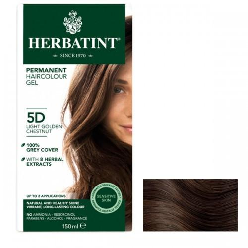 "Herbatint ""D"" Golden Series Natural Herb Based Hair Colour 8D Light Golden Blonde "" D""金色系列天然草本植物染发剂4D浅金色"